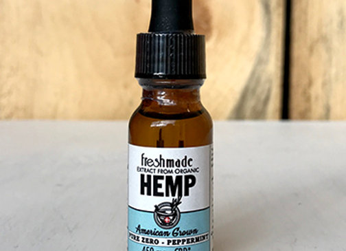 Pure Zero - Organic Peppermint Flavor  450 mg Hemp