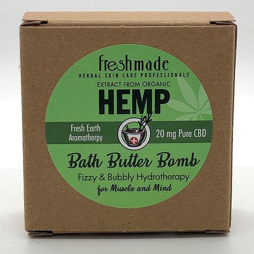 Hemp Bath Butter Bomb