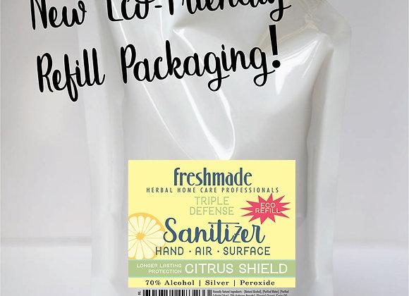 Sanitizer   Eco-Refill   Citrus Shield