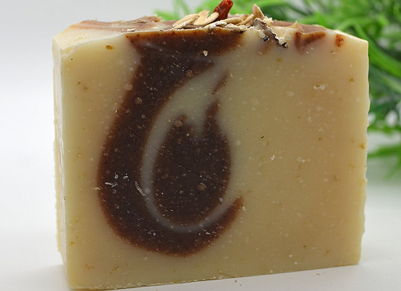 Almond Granola Vintage Crafted Soap