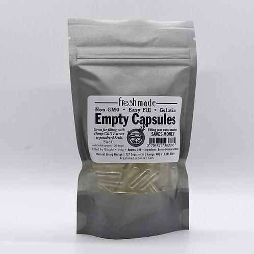 Empty Capsules Size 0