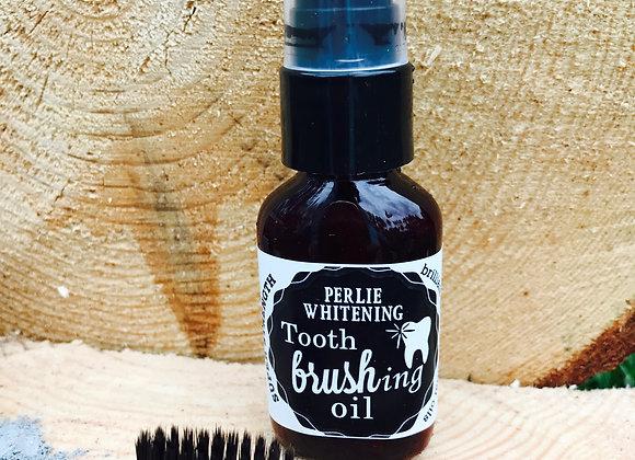 Perlie Whitening Tooth Brushing Oil
