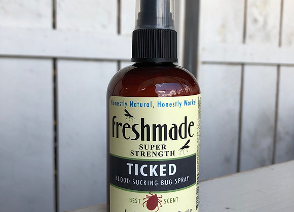 Ticked Bug Spray 4oz