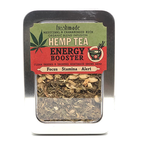 Hemp Tea Energy Booster