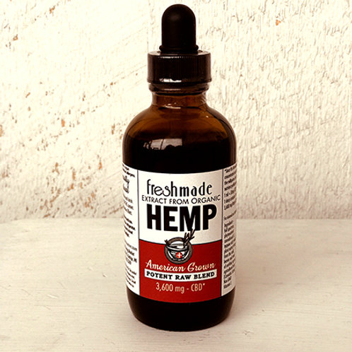 Potent Raw Blend 3600 mg Hemp/CBD