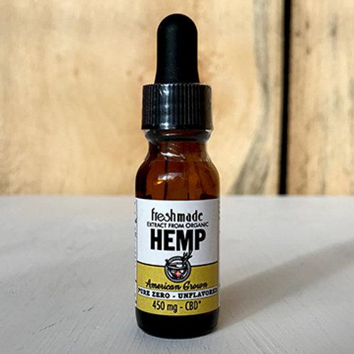 Pure Zero - Naturally Unflavored 450 mg Hemp/CBD