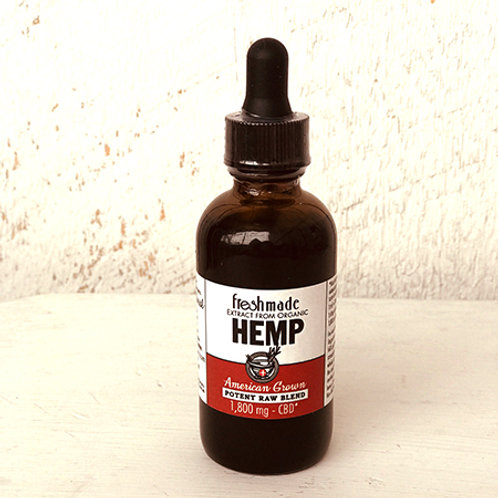 Potent Raw Blend 1800 mg Hemp/CBD