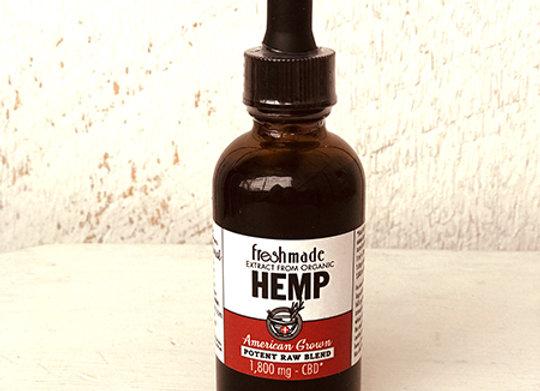 Potent Raw Blend 1800 mg Hemp/CBD