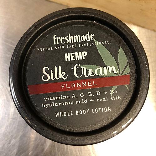 Hemp Silk Cream | Flannel