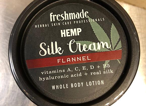 Flannel  Hemp Silk Cream