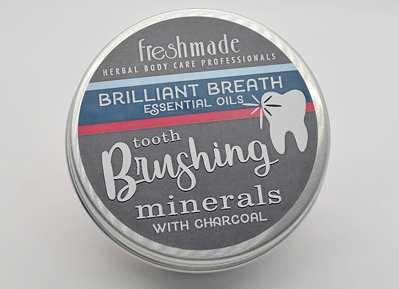 Tooth Brushing Mineral with Charcoal