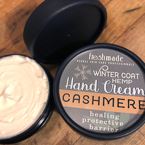 Winter Coat Hemp Hand Cream_CASHMERE 2 oz