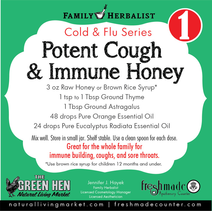 Potent Cough & Immune Honey