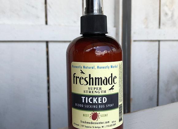 Ticked Bug Spray 8oz