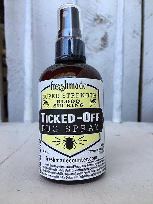 Ticked Off Bug Spray 4 oz - Qty 2