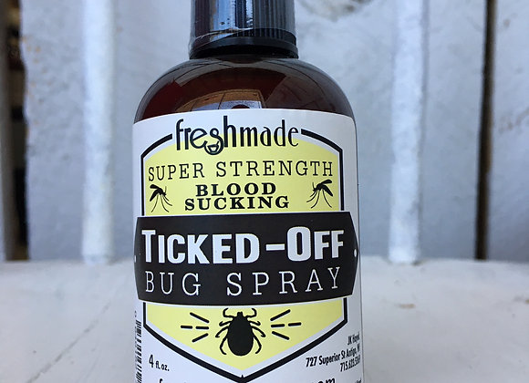 Ticked Off Bug Spray 4oz