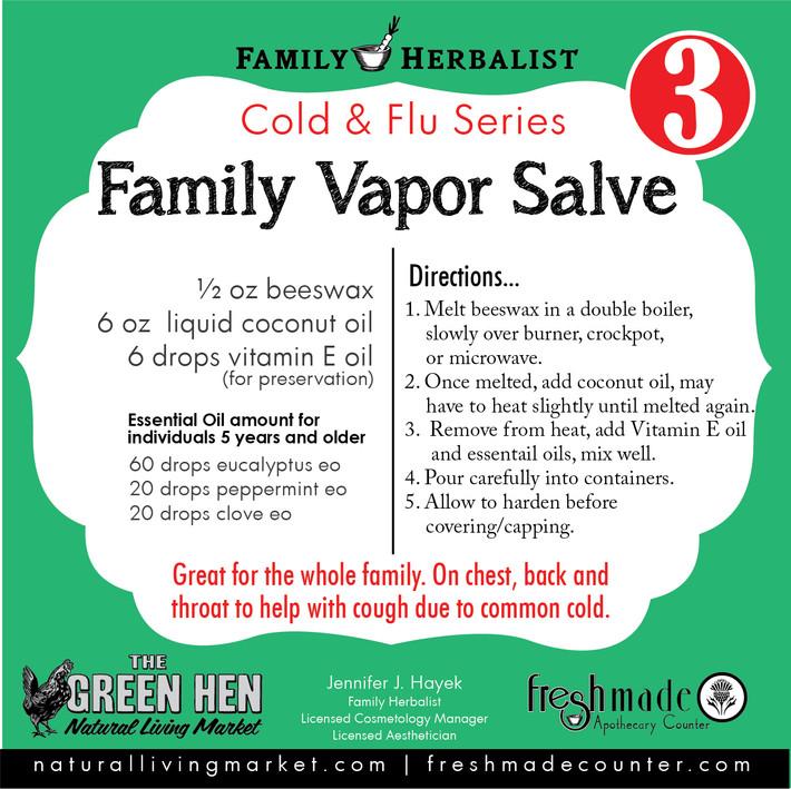 Family Vapor Salve