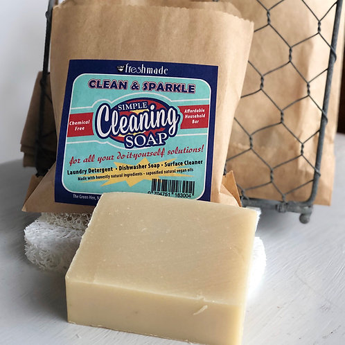 Simple Cleaning Soap with Recipes