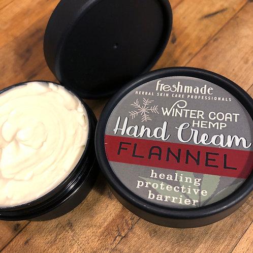 Winter Coat Hemp Hand Cream_FLANNEL 2 oz