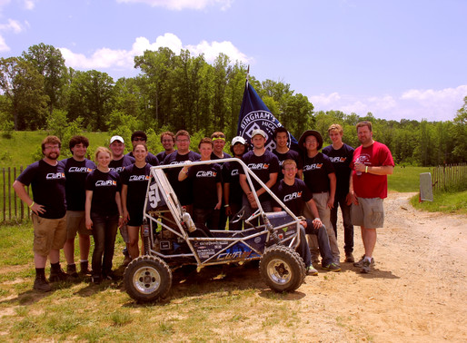 CWRU Motorsports Places at the Top in Maryland