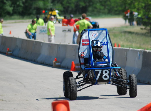 CWRU competes in 2012 Baja SAE Midwest Series, places 16th in Design
