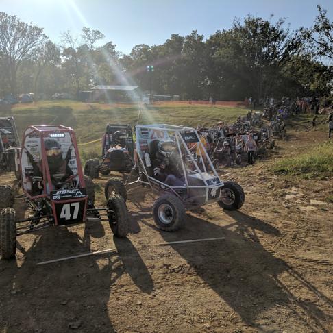 CWRU Motorsports claims 1st Place Acceleration at Midnight Mayhem IX