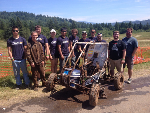 CWRU Motorsports Finishes The 2015 Season Out West