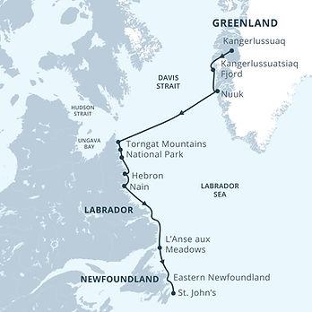 Greenland, Canada, NTNUYT, QC, NSNBNLPE