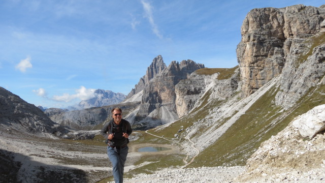 On the Tre Cime circuit