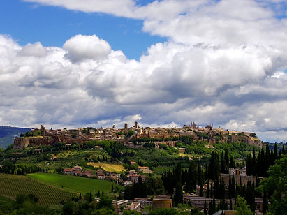 In medieval times the Via Francigena was an important pilgrimage route for those wishing to visit the Holy See and the tombs of the apostles Peter and Paul in Rome.  Today the route follows the ancient trail from Canterbury in England to Italy's capital.  This last section, from Orvieto to the Eternal City, takes you through the hills of Umbria, past hill top towns, ancient Etruscan villages and historical sites, all the while sampling delicious regional culinary specialities.