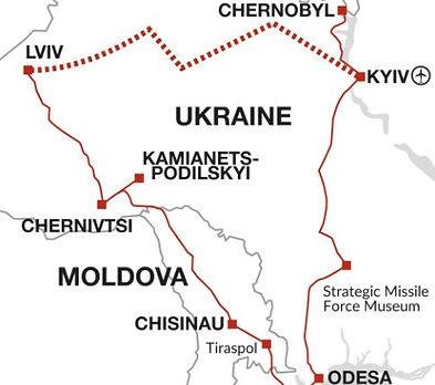 Ukraine, Moldova, Transnistria
