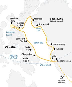 Canadian Arctic, Canada, Greenland, NT, NU, YT