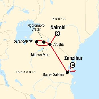 Tanzania, Kenya