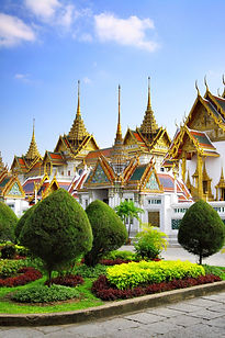 Vietnam's lush rice paddies, Laos' tropical forests and ancient villages; Thailand's hazy mountains and cascading waterfalls; Ha Long Bay's craggy limestone cliffs rising from the sea; Cambodia's ancient Angkor Wat.  And everywhere gleaming temples and golden Buddhas, bustling cities, smiling people and wonderful food.  Come and discover South East Asia on this Grand Tour of Thailand and Indochina.
