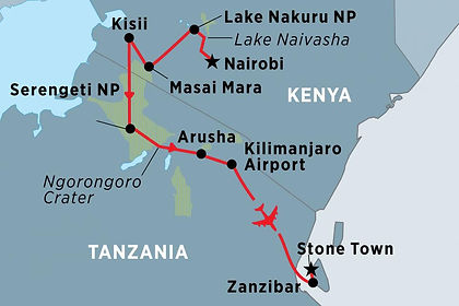 Kenya, Tanzania