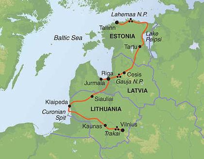 Estonia, Latvia, Lithuania