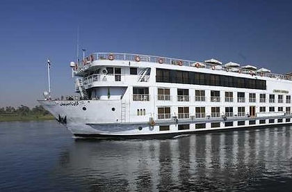 On this premium cruise on the Nile in Egypt you get to witness the pyramids, bazaars, mosques and museums in Cairo, Karnak's Pharaonic temples and Valley of the Kings near Luxor and the masterpiece of a temple Ramses II built in Abu Simbel. Join a Nile cruise and visit edifices where time has stood still for centuries.  This adventure tour of Egypt shows you the country in style.