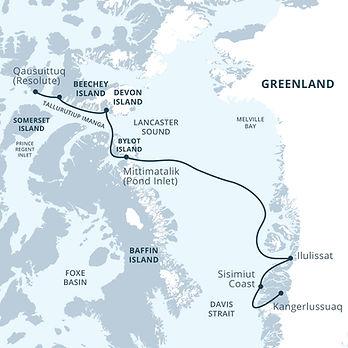 Canada, Canadian Arctic, Greenland, NT, NU, YT, Arctic1