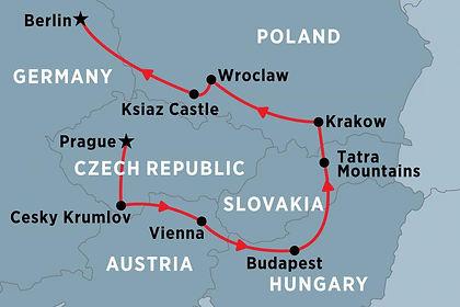 Czech Republic, Austria, Slovakia, Hungary, Poland, Germany
