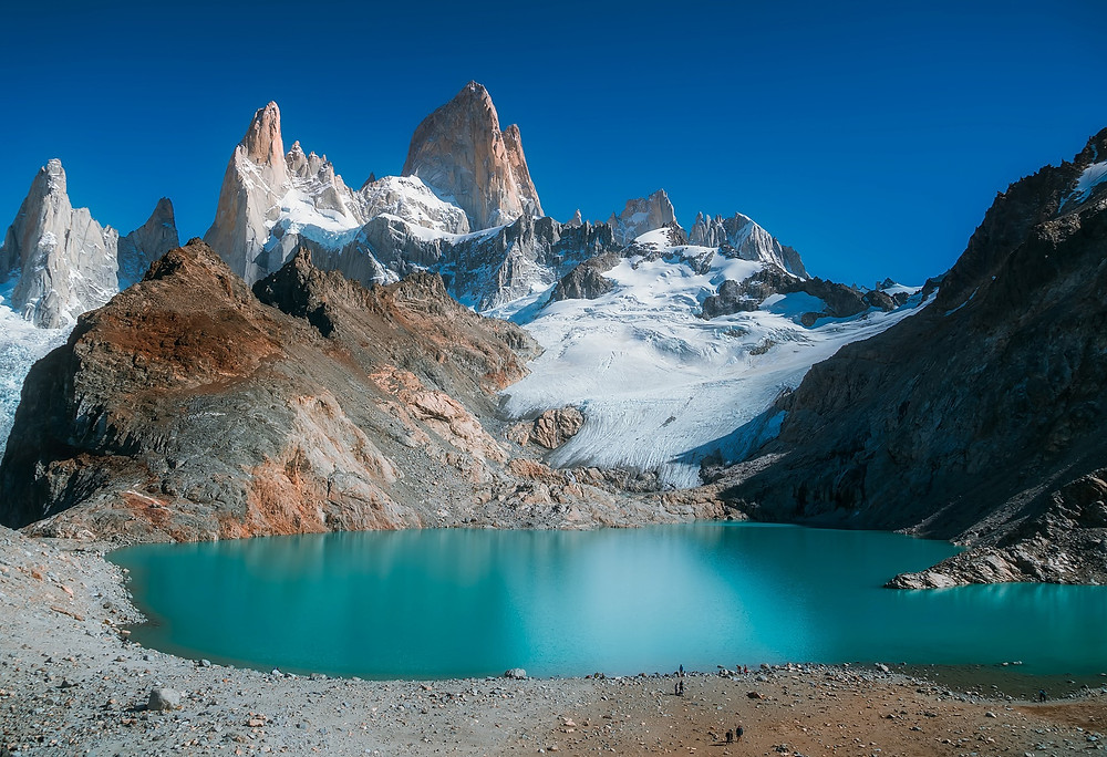 Mount Fitzroy, Patagonia, Andes, Argentina