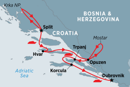 Croatia, Bosnia and Herzegovina