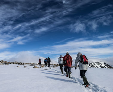 Explore Antarctica with your comfortable expedition cruise ship as your Base Camp.  From it you engage in myriad activities, including hiking, snowshoeing, kayaking, mountaineering, and even camp out on the ice.