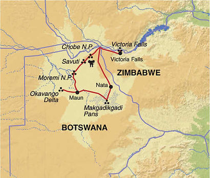 Botswana, Zimbabwe