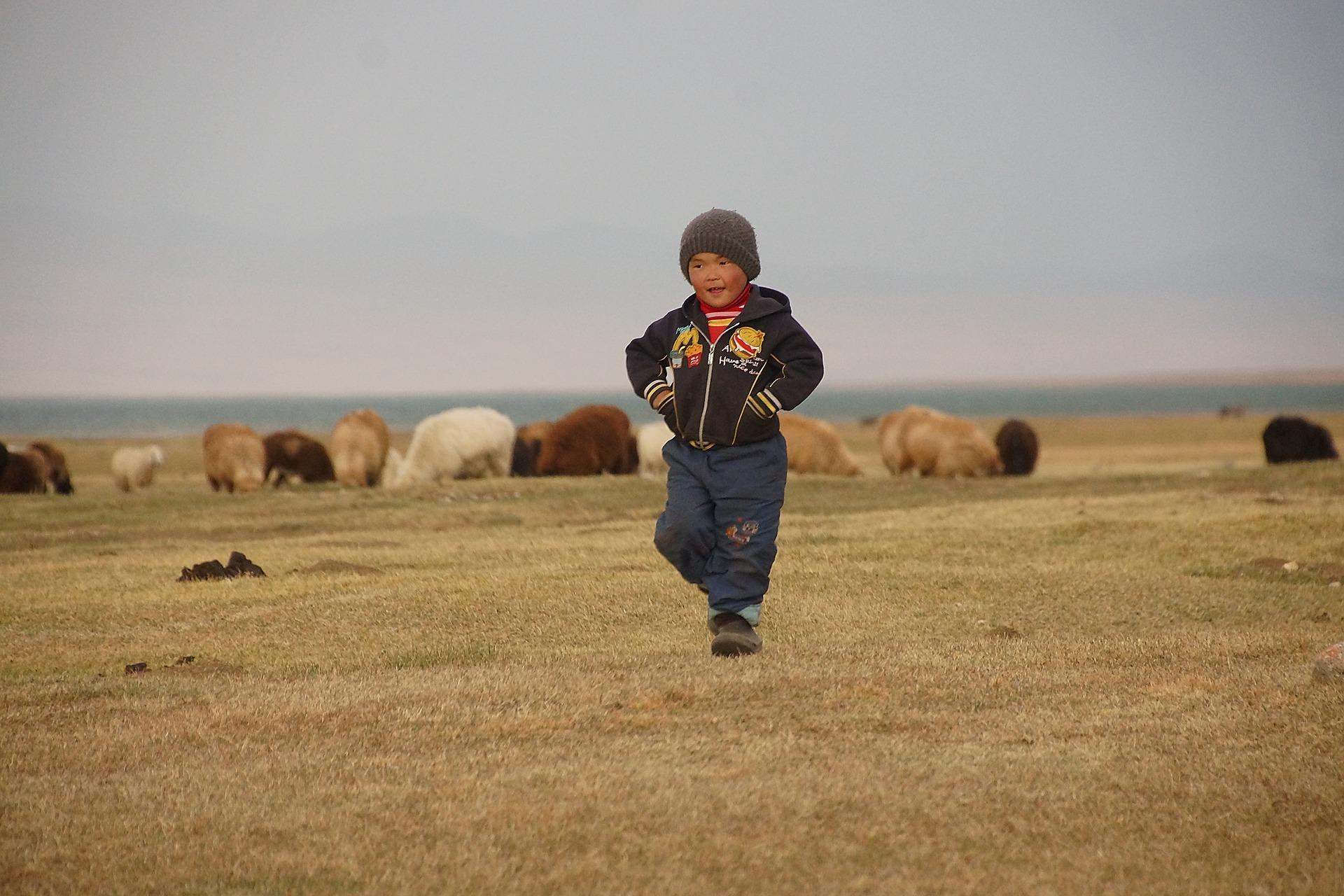 Boy in Kyrgyzstan
