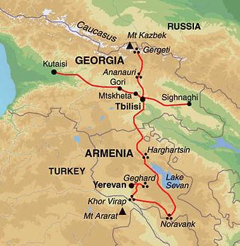 Armenia, Georgia