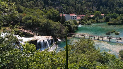 Endless Roman ruins, romantic Venetian towns and Byzantine churches. Sun-bleached hills descending to cobalt blue seas, which in turn straddle a coast dotted with picturesque isles. Inland meanwhile, limestone caverns, river canyons, splendid waterfalls and picturesque lakes will leave you dazzled.  This walking trip along Croatia's Dalmatian coast shows you the best of it all, including Dubrovnik, the stunning viewpoints and villages of the  island of Brac, Diocletian's Roman Palace in Split, the waterfalls of Krka National Park, and the limestone cliffs, caves and canyons of Paklenica NP.
