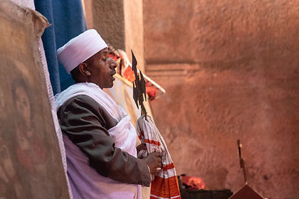 Travel to Ethiopia and you will step into two worlds.  Modern Addis Ababa where the country rushes headlong into the future.  Outside of the capital you feel like you step into a forgotten world - one where you engage in time travel.  Journey with us to the rock-hewn churches of Lalibela and the spectacular Gheralta Mountains, visit Axum, erstwhile capital of the Axumite empire and rumoured resting place of the Ark of the Covenant and to Gondar, the royal capital of Ethiopia.  At the close of your private journey to Ethiopia we take you to the island monasteries of Lake Tana and the majestic Blue Nile Falls. As with all our private tours, this sample itinerary can be completely tailored to create the perfect journey of discovery for you.
