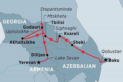 Azerbaijan, Georgia, Armenia