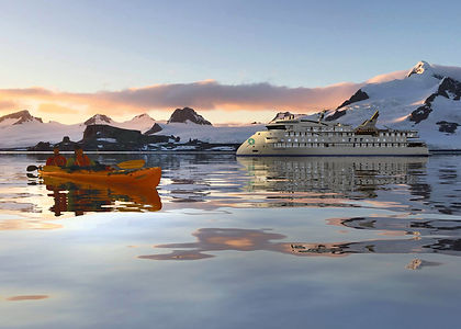 It is one thing to sail on an expedition cruise to the frozen world of Antarctica.  It is something else altogether to go below the Antarctic Circle.  Apart from the bragging rights, this trip gives you a lot more time in Antarctica than cruises that don't go this far south and takes you to places seldom visited by other travellers.  More time means more glaciers, penguins, whales, seal and birds.  And a journey that will be etched in your memory for the rest of your life.