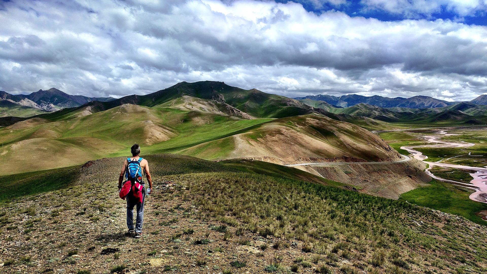 Hiker,  Kyrgyzstan